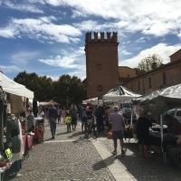 Giorno di mercato, Piazza e Torresotto - FabioSchiavina - San Giorgio di Piano (BO)