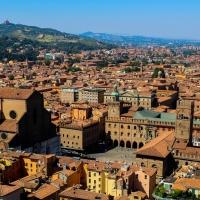 San Petronio dalla cima della Torre Asinelli - LauraGiovannini - Bologna (BO)