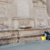 LA FONTANA E IL MENDICANTE - Scheletropaffuto - Bologna (BO)