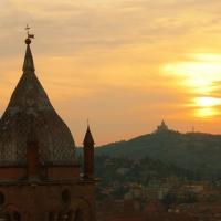 Tramonto su San Pietro e San Luca - MarkPagl - Bologna (BO)