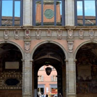 'Archiginnasio VISTO DAL CORTILE VERSO ENTRATA PRINCIPALE - Anita1malina - Bologna (BO)