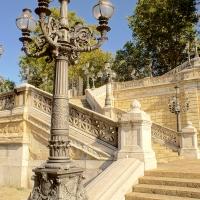 Giardino della Montagnola, Bologna, gradinata - Alessandro Siani - Bologna (BO)