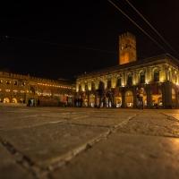 Piazza Maggiore Bologna di notte - Wwikiwalter - Bologna (BO)