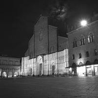 Piazza Maggiore di notte - Claudio Bacchiani - Bologna (BO)