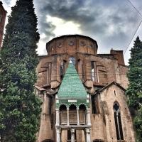 Basilica di San Francesco in una giornata uggiosa di fine Estate - Enricopasini.ep - Bologna (BO)