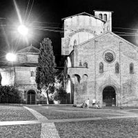 Bologna, Piazza S.Stefano, notturna - Alessandro Siani - Bologna (BO)