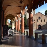 Piazza santo stefano vista dal portico sinistro - Anita1malina - Bologna (BO)