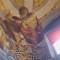 Palazzo Pepoli Campogrande - Salone d'onore particolare affresco soffitto angolo - Opi1010 - Bologna (BO)