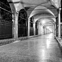 Bologna, Basilica di S.Maria dei Servi, Portico - Alessandro Siani - Bologna (BO)