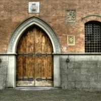 Palazzo municipale, particolari - Pierluigi Mioli - Budrio (BO)