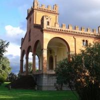 Villa Rusconi, facciata laterale - DanielaMangano - Budrio (BO)
