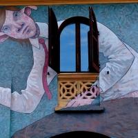 Muro dipinto di Dozza 2 - Cinzia Sartoni - Dozza (BO)