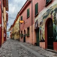 Una via di Dozza dipinta da artisti contemporanei - Vanni Lazzari - Dozza (BO)