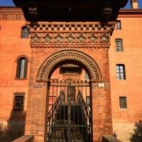 Palazzo Rosso - Bentivoglio - Portale di entrata ponte sul Navile - Clo5919 - Bentivoglio (BO)