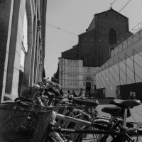 San Petronio b&n - Maurizio rosaspina - Bologna (BO)