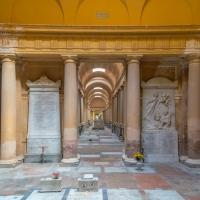 Una delle gallerie interne della Certosa di Bologna - Federico Palestrina - Bologna (BO)