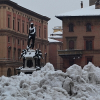 Nettuno e neve - Anita.malina - Bologna (BO)