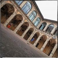 Bologna spettacolo Cortile dell' Archiginnasio - Claudio alba - Bologna (BO)