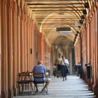 Bologna - portico via Saragozza - Loris Quartieri - Bologna (BO)