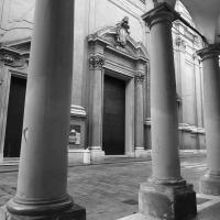 Bologna - Vista dai Portici di Via Indipendenza della Basilica di San Pietro - Sansavini Loredana - Bologna (BO)