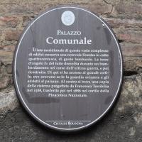 Cartello turistico palazzo comunale - Nicola Quirico - Bologna (BO)