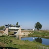 Ponte Guazzaloca Comune di Crevalcore sul Canale Collettore Acque Alte - Maria Rita Biagini - Crevalcore (BO)