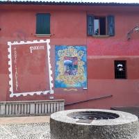Dipinto di un sigillo a Doza - Rakel ytal - Dozza (BO)