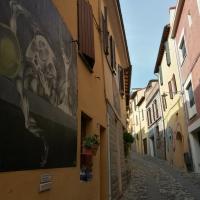 Lungo la via del borgo - Marmarygra - Dozza (BO)