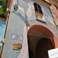 Piazza Zotti streetart - Marmarygra - Dozza (BO)