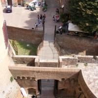 Entrata della rocca vista dall'alto - Marmarygra - Dozza (BO)