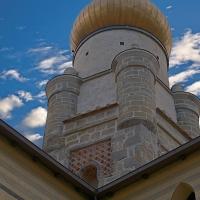 La torre con cupola color oro - Caba2011 - Grizzana Morandi (BO)