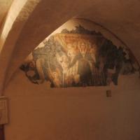 Biblioteca Comunale - dettaglio affresco - Maurolattuga - Imola (BO)