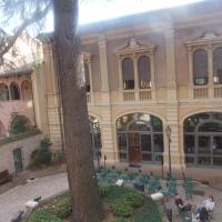 Biblioteca Comunale - giardino - Maurolattuga - Imola (BO)