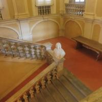 Biblioteca Comunale - dettaglio scalinata piano - Maurolattuga - Imola (BO)