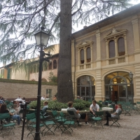 Biblioteca Comunale - dettaglio giardino 2 - Maurolattuga - Imola (BO)