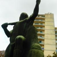 Monumento ai Caduti della prima guerra mondiale - dettaglio statua - MauroLattuga - Imola (BO)