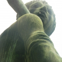 Monumento ai Caduti della prima guerra mondiale - dettaglio viso - MauroLattuga - Imola (BO)