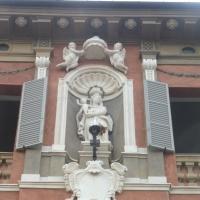 Palazzo Comunale - dettaglio statua - MauroLattuga - Imola (BO)