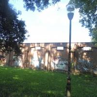 Parco delle Acque Minerali - murales retro - Maurolattuga - Imola (BO)
