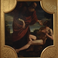 Matteo Loves, Creazione di Adamo, Pinacoteca Civica Pieve di Cento - Nicola Quirico - Pieve di Cento (BO)