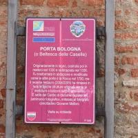 Cartello turistico Porta Bologna Pieve di Cento - Nicola Quirico - Pieve di Cento (BO)