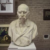 Giuseppe Zacchini, Busto di Luigi Galuppi da vecchio (?), Museo delle Storie di Pieve - Nicola Quirico - Pieve di Cento (BO)