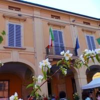 """Palazzo Counale di San Giorgio di Piano fotografato durante la mostra-mercato floreale """"Il Verde Piano"""" - Ery31078 - San Giorgio di Piano (BO)"""