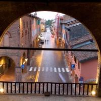 Porta Capuana - veduta dall'interno - Ery31078 - San Giorgio di Piano (BO)