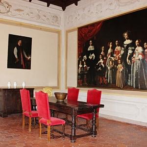 Rocca di Dozza - Sala del Pasinelli foto di: |Fondazione Dozza Città d'Arte| - Fondazione Dozza Città d'Arte