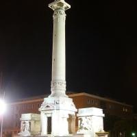 Monumento ai Caduti, vista notturna. - Andrea savorelli - Forlì (FC)