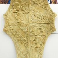 Biblioteca malatestiana, corridoi, stemma malatestiano, 1460 circa 01 - Sailko - Cesena (FC)