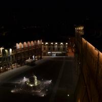 Vista della Piazza del Popolo dalla Rocca Malatestiana, Cesena - -Riccardo29- - Cesena (FC)
