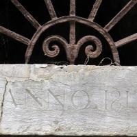 Cesena, rocca malatestiana, salita alla rocca, data 1813 su un portale - Sailko - Cesena (FC)