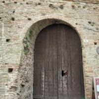 Cesena, rocca malatestiana, ingresso al torrione di sant'agostino 02 strombatura - Sailko - Cesena (FC)